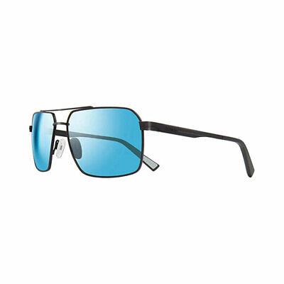 Revo RE 1048 01 BL Pax Polarized Sunglasses Black with Blue Water 59mm (Revo Blue Lens)