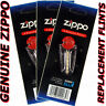 Genuine Zippo Replacement Flint 2406N 3 Packs 18 Flints FREE