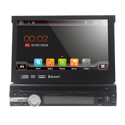 GPS Camera Fasten on Din Android 7.1 Car Stereo Radio Central Multimidia DVD Player