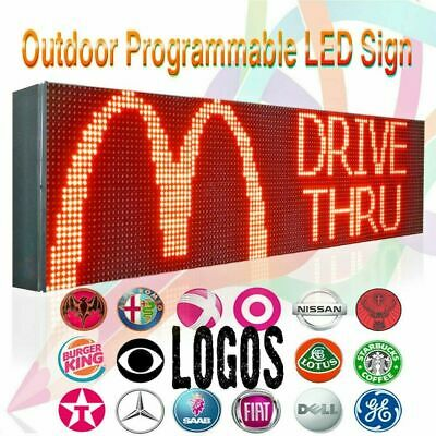 Wifi 15 X 25 Full Color 10mm Indoor Outdoor Programmable Scrolling Led Sign
