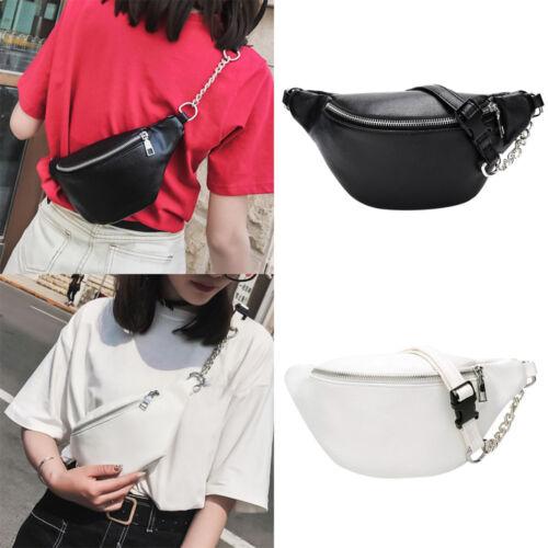 US Ladies Waist Fanny Pack Belt Bag Pouch Hip Bum Bag Women