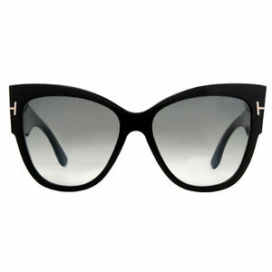 tom ford women 39 s anoushka sunglasses black ebay. Black Bedroom Furniture Sets. Home Design Ideas