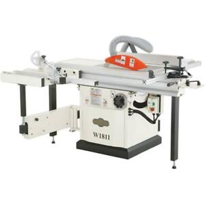 W1811 SHOP FOX® 10 Sliding Table Saw - 5HP, Single Phase