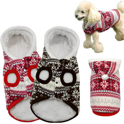 Chihuahua Costumes (Winter Warm Dog Costumes Pet Clothes Coats for Small Large Dogs Chihuahua XS-XL)
