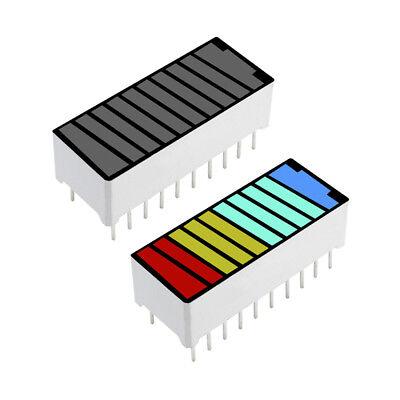 5pcs 4 Colour Color 10 Segment Led Battery Bar Graph Light Display Indicator Dip