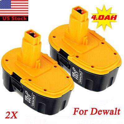 2pk Dewalt DC9096 XRP//DW9096//DE9096//DW9099 18V 2200 mAh NiCd DIY Battery Kit