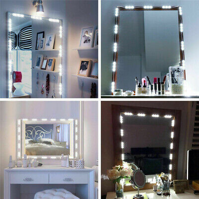 Best Hollywood Make Up Mirror Lights 60 LED Kit Bulbs Vanity Light Dimmable