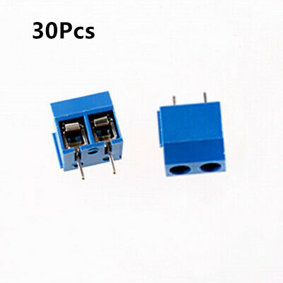 30x 2 Way 2p Pcb Mount Screw Terminal Block Connector 5.08mm Pitch Us Shipping