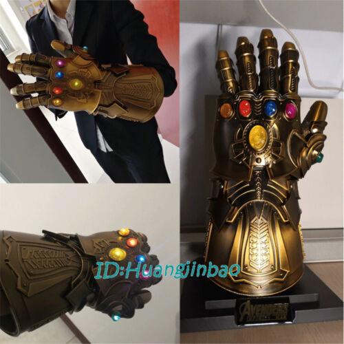 Thanos Infinity Gauntlet Full Metal 1:1 Wearable Cosplay Infinity stones InStock