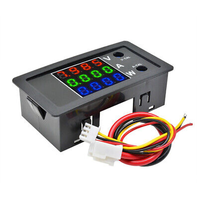 100v 10a 1000w Voltage Current Power Meter 4 High Precision Red Blue Green Digit