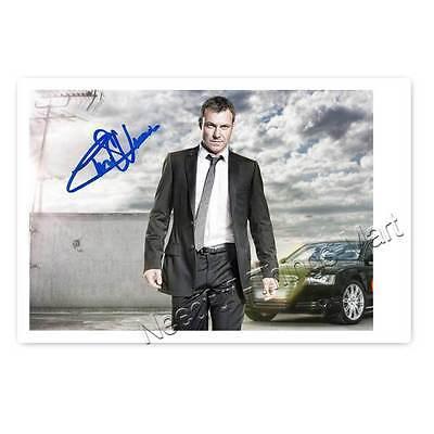 Chris Vance aus Transporter - Autogrammfoto laminiert [A02] 