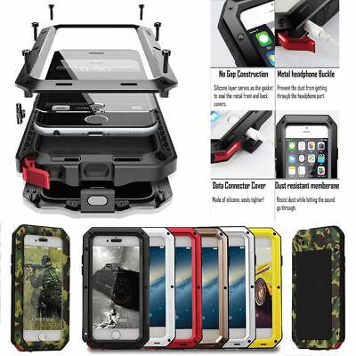 Waterproof Shockproof METAL Aluminum Gorilla Case For iPhone 6 7 8 Plus X XR 11