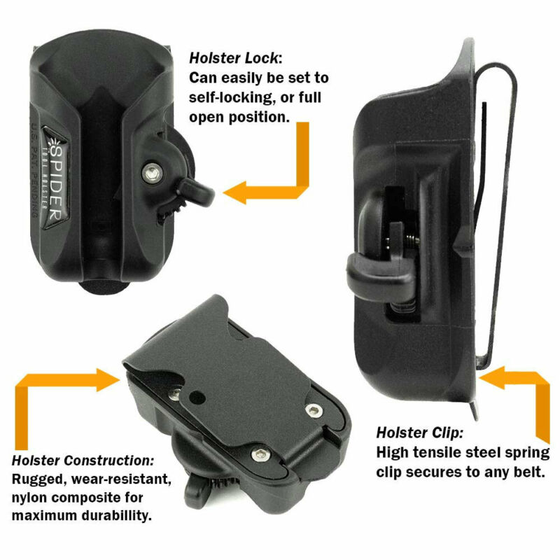 Spider Tool Holster #5000TH Holster Set