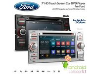 """7""""Android 5.1 Lollipop Quad Core Car DVD Player with Screen Mirroring Function & OBD2 for FORD"""