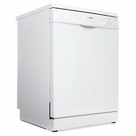 Bosch Serie 2 SMS50T02GB 60cm A+ 12 Place Setting LED Display White Dishwasher