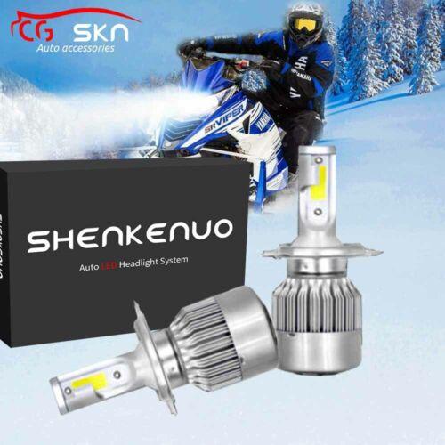 For Ski Doo MXZ Gen 4 850 600 17-19 High Power LED Headlight Bulbs 100W 11000LM