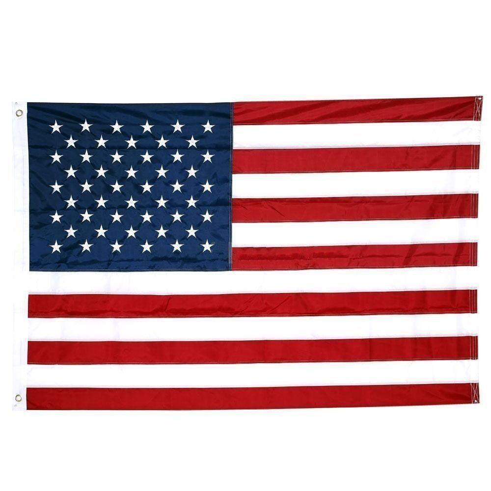 4x6 usa american flag nylon heavy duty