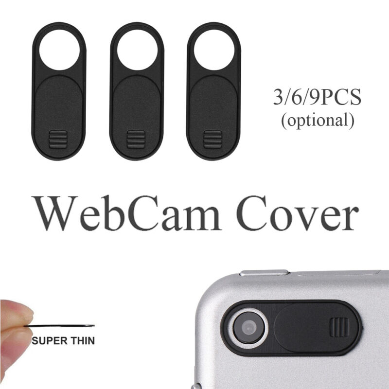 Shutter WebCam Cover Lens Privacy Sticker For Phone Laptop iPad Mac Tablet