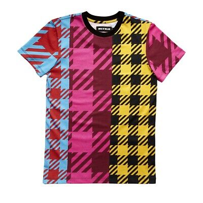 BNWT House Of Holland London Fashion Weekend Oversized Gingham T-Shirt Size 10