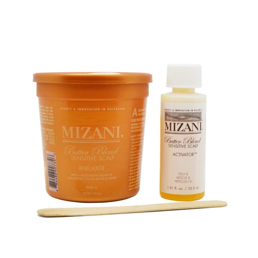 Mizani Butter Blend Sensitive Scalp Rhelaxer Single Application Hair Care & Styling
