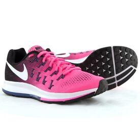 Nike Air Zoom Pegasus 33 Womens Trainers Running Gym UK 4.5 EUR 38 US 7 NEW