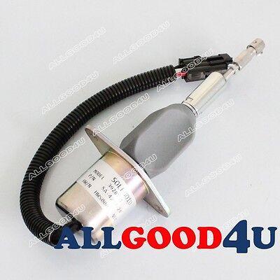 Stop Solenoid for Komatsu D61PX-12 D61E-12 D61EX-12 D68ESS-12 Bulldozer S6D114