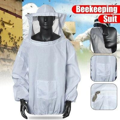 Pro Beekeeping Full Protecti Jacket Tops Beekeeper Keeping Hat Veil Sleeve Equip