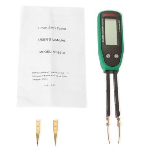 Smart SMD RC résistance condensateur diode Compteur Testeur Pince à épiler scan Auto