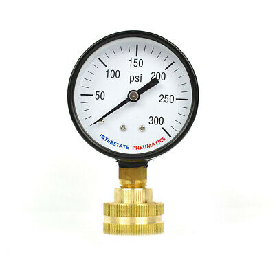 G2022-300w 2-12 Inch 300 Psi 34 Inch Ght P2a Water Pressure Test Gauge