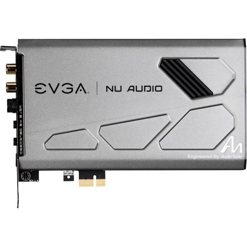 EVGA - NU Audio Sound Card - Silver