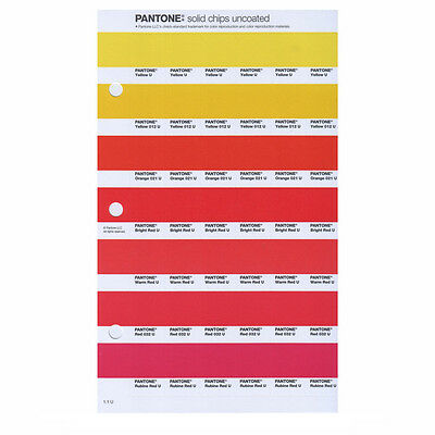 Pantone New Plus Solid Chips Uncoated Pg 26u