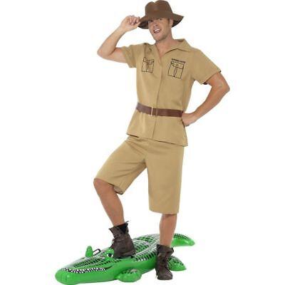 Smi - Herren Kostüm Safari Zoowärter Abenteurer Karneval Fasching