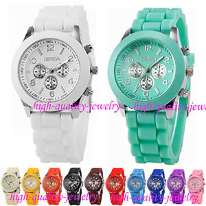 Fahion-Geneva-Silicone-Quartz-Men-Boy-Lady-Women-Girl-Unisex-Jelly-Wrist-Watch