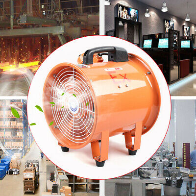 10 Atex Axial Fan Powerful Explosion-proof Spray Booth Paint Fumes Exhaust 110v
