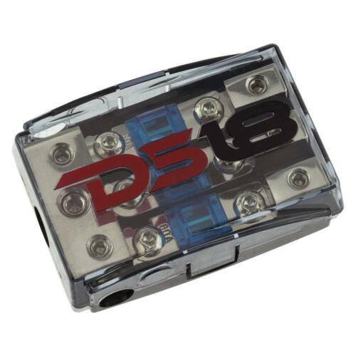 DS18 Mini Anl Fuse Holder 0 4 Gauge 3 Way 8 Input Output Car Distribution Block