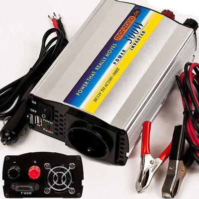 Spannung Strom Wandler (monzana® Spannungswandler 600W Wechselrichter Inverter 12 - 230V Stromwandler)