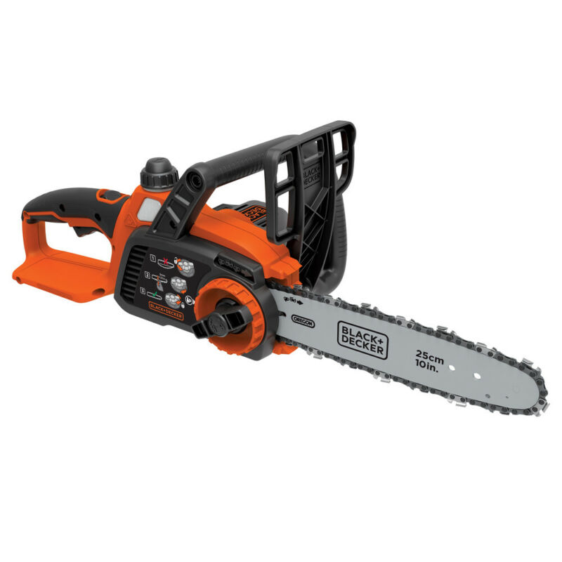 Black & Decker LCS1020B 20V MAX Brushed Li-Ion 10 in. Chainsaw (Tool Only) New