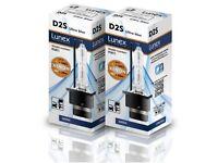Xenon Bulbs D2S 6000K set of two