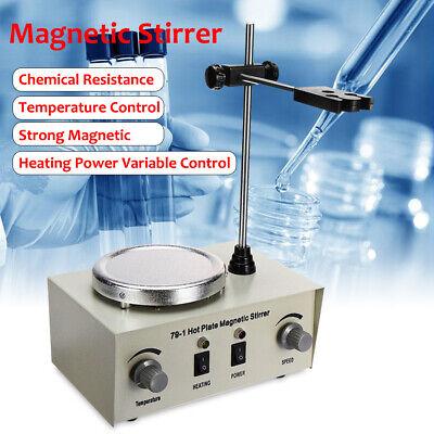 Magnetic Stirrer Hotplate Stirrer Heating Plate Mixer Heater 0-2400rmin 1000ml