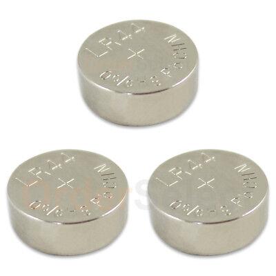 3 PACK NEW Battery Coin Cell Button 1.5V L1154 SR44 SR44W SR44SW V13GA US Seller