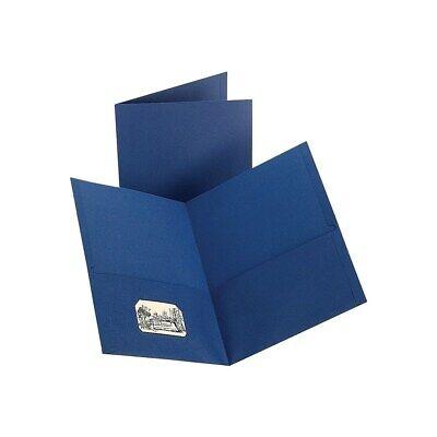 Staples 2-pocket Folders Dark Blue 10pack 13377-cc 907701