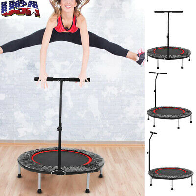 Indoor Mini Heavy Duty Folding Trampoline Fitness Rebounder
