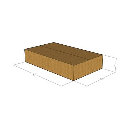 50 New Corrugated Boxes - 20 X 12 X 4 - 32 Ect