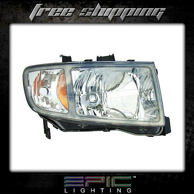 Fits 2006-08 Honda Ridgeline Pickup Headlights Headlamps Right Passenger Only