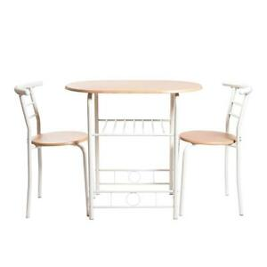 NEW Handi-Craft 3 Piece Compact Dining Set w/Table and Matching Chairs Condition: New
