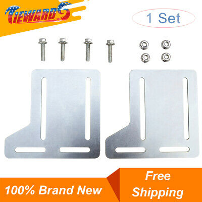 Bed Frame Brackets Fit For Headboard Extra Brackets with Hardware Heavy -