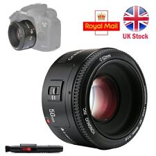 Yongnuo YN 50MM Fixed Lens AF / MF F/1.8 Prime for Canon DSLR EF Camera UK