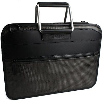 Business bag / carbon fiber aluminum handle briefcase A4 size