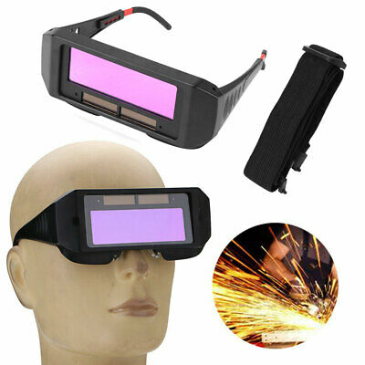 Solar Auto Darkening Welding Glasses Welder Mask Helmet Eyes Tig Mig Goggle