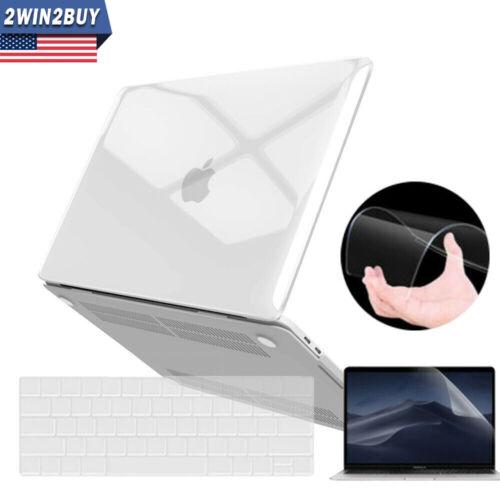 2019 For Macbook Pro 13 Inch Clear Hard Case & Keyboard & Sc